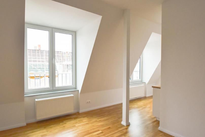 1 room with roof terrace - 33 qm right